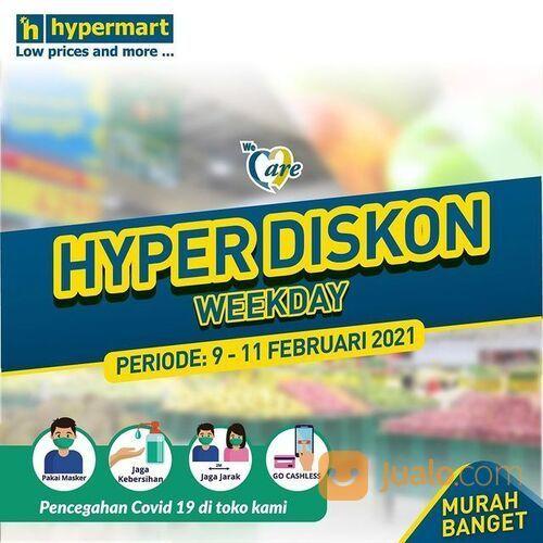 Hypermart Promo Koran Weekday Periode 9 - 11 Februari 2021! (29517389) di Kota Jakarta Selatan