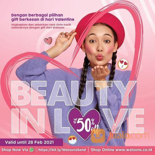Watsons SPECIAL PWP - Buy min 100K cosmetics product can buy special pwp with special discount (29519036) di Kota Jakarta Selatan