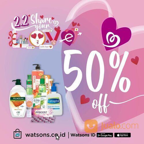 Watsons 2.2 Share Your Love is Here (29519209) di Kota Jakarta Selatan