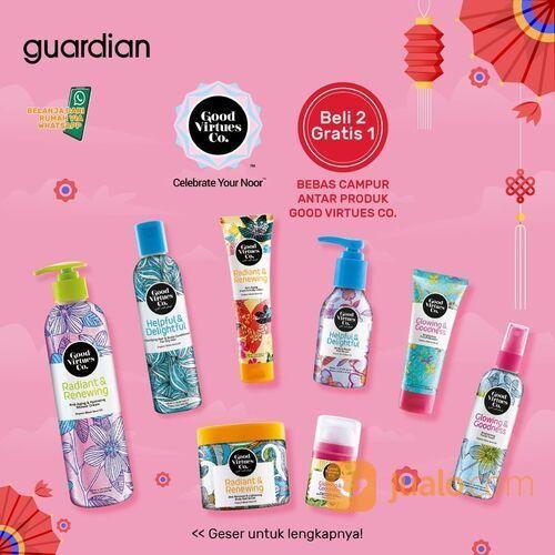 Guardian Promo Produk-produk Good Virtues Co lagi promo beli 2 gratis 1 bebas campur nih di Guardian (29519438) di Kota Jakarta Selatan