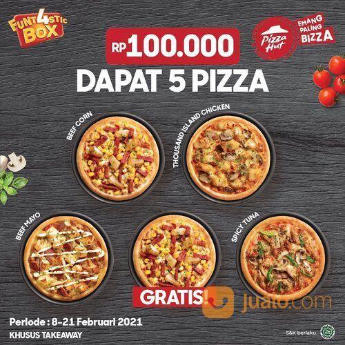 Pizza Hut Promo gratis 1 pizza tiap beli 4 pizza Funt4stic (29520480) di Kota Jakarta Selatan