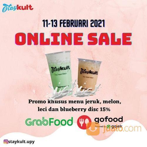 Staycult promo langsung cus buka GRABFOOD/GOFOOD Dikson 15% (29536850) di Kota Jakarta Selatan