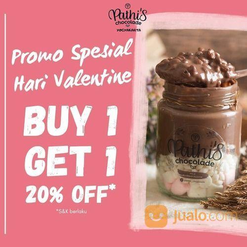 Pathi's Chocolade JOGJA BUY 1 GET 1 20% OFF (29536919) di Kota Jakarta Selatan