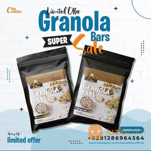 CHACOOKIES Granola all Varian masih diskon 25% sampai tgl 13 February ini ya. (29537003) di Kota Jakarta Selatan