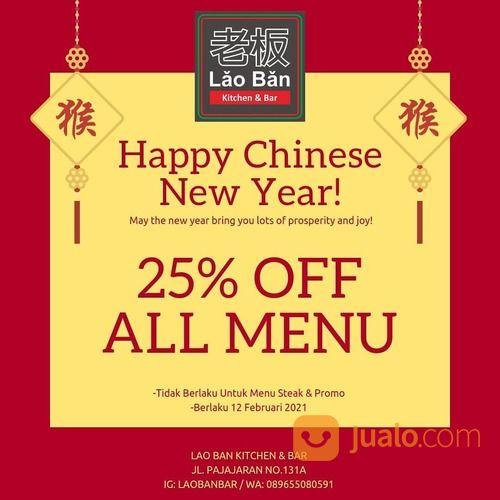 LAO BAN Nikmati Diskon 25% untuk semua varian menu* hanya pada hari spesial ini! (12 FebLruari 2021) (29537055) di Kota Jakarta Selatan
