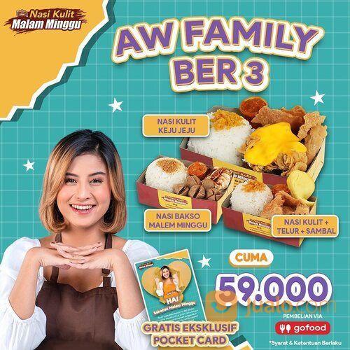 NASI KULIT MALAM MINGGU PROMO AW FAMILY BER 3 (29550832) di Kota Jakarta Selatan