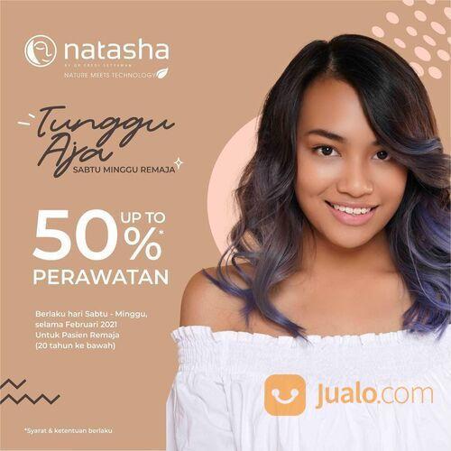Natasha Skin Clinic Center Dapatkan diskon perawatan hingga 50% diseluruh cabang Natasha Skin Clinic (29551143) di Kota Jakarta Selatan