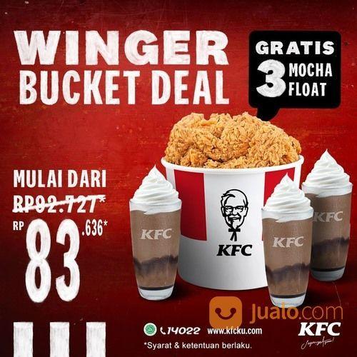 KFC WINGER BUCKET DEAL! (29551365) di Kota Jakarta Selatan