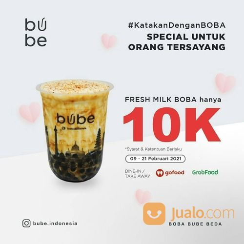 Bube Indonesia Come and have a taste of Fresh Milk Boba @bube.indonesia now only 10K!* (29552567) di Kota Jakarta Selatan