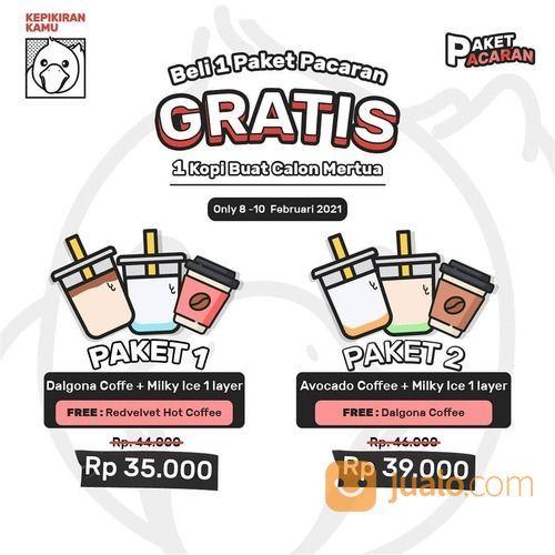 Kepikiran Kamu Coffee Beli 1 PAKET PACARAN gratis 1 Kopi buat Calon Mertua (29553889) di Kota Jakarta Selatan