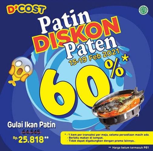 D'Cost Seafood Disc 60% (29563474) di Kota Jakarta Selatan