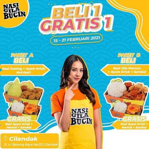 NASI GILA BUCIN CILANDAK (29571304) di Kota Jakarta Selatan