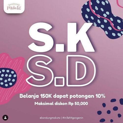 Makuta Van Deventer Promo SKSD (Selasa dan Kamis Semua Diskon) (29571672) di Kota Bandung