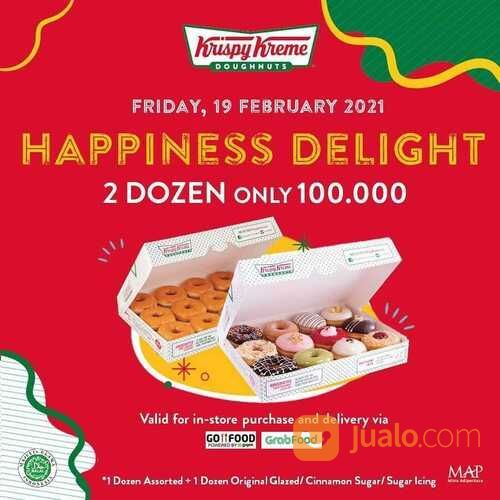 KRISPY KREME PROMO 100 RIBU DAPET 2 LUSIN DATANG LAGI! (29575058) di Kota Jakarta Selatan