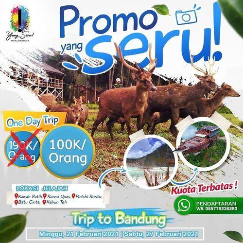 yangseru OPEN TRIP JELAJAH BANDUNG (29580961) di Kota Jakarta Selatan