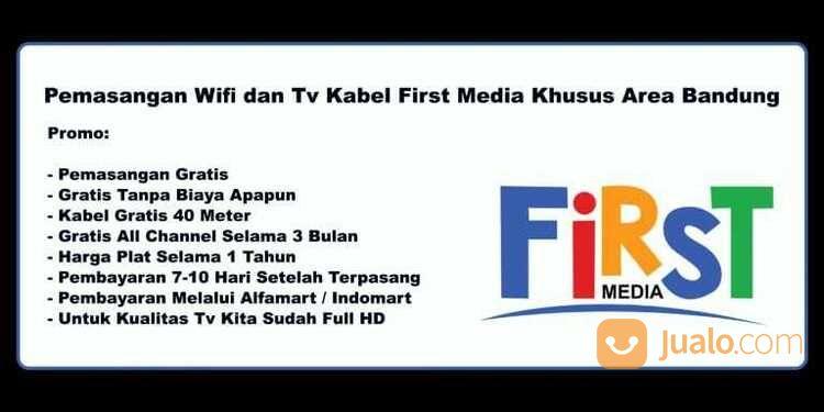 Pasang First Media Ciateul (29584574) di Kota Bandung