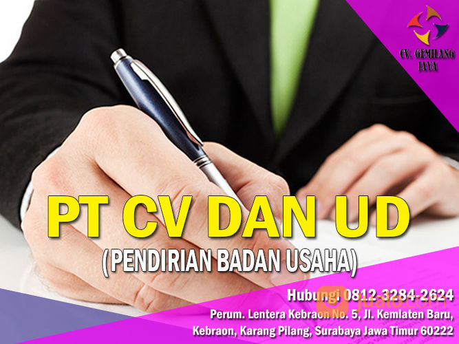 JASA PENDIRIAN BADAN USAHA JAWA TIMUR (29585514) di Kota Surabaya