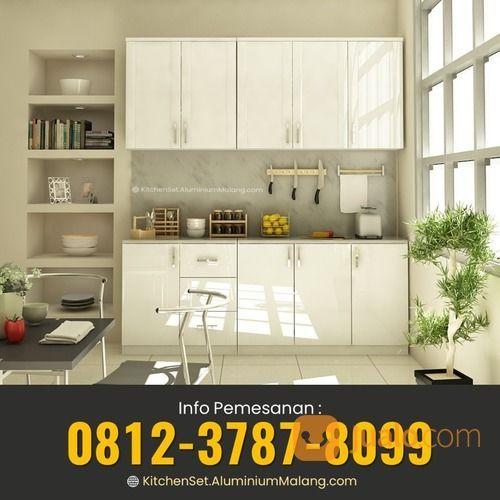 TERMURAH!! WA: O8I2-3787-8O99, Kitchen Set Dari Aluminium Malang (29593139) di Kab. Malang