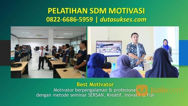 Hubungi 0822-6686-5959, Motivator Untuk Anak Muda, Motivator Untuk Karyawan (29596372) di Kota Malang