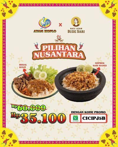 Spezial dari Ayam Koplo dan Bude Sari menghadirkan PROMO BUNDLING (29597564) di Kota Jakarta Selatan
