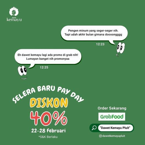 Dawet Kemayu Pluit promo lagi gengs! (29606808) di Kota Jakarta Utara