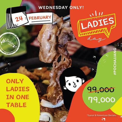 Pochajjang Korean BBQ Promo Ladies day (29608125) di Kota Jakarta Selatan