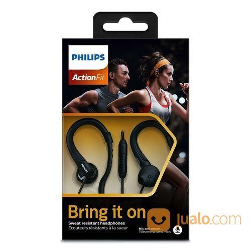 Philips SHQ 1255T Sports Earphone With Mic (29613522) di Kota Jakarta Utara