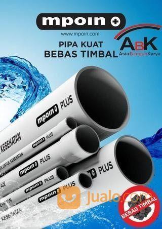 "Pipa PVC MPOIN Plus Anti Timbal AW 1/2"" (29626987) di Kab. Brebes"