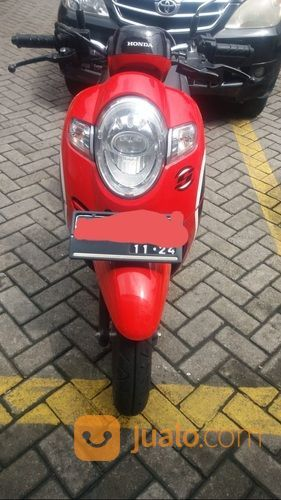 Honda Scoopy Tahun 2019 Merah Hitam (29631226) di Kota Surabaya