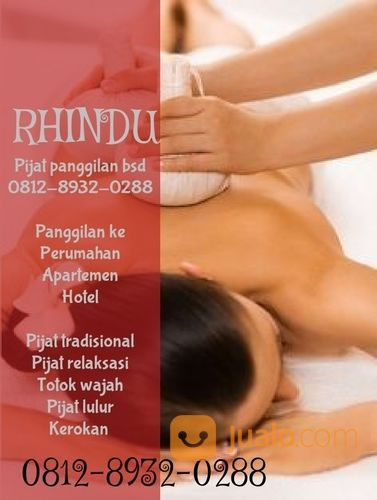 Pijat Panggilan Bsd Rhindu Massage (29637379) di Kab. Tangerang