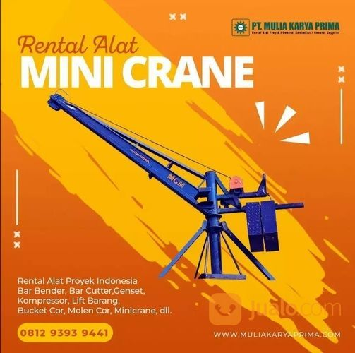 Sewa Mini Crane   Sewa MCM   Rental Alat Proyek Flores Timur (29640114) di Kab. Flores Timur