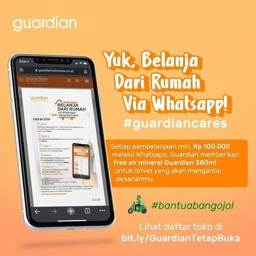 Di @guardian_id juga banyak produk parfum & body mist yang lagi promo nih. (29643629) di Kota Jakarta Selatan