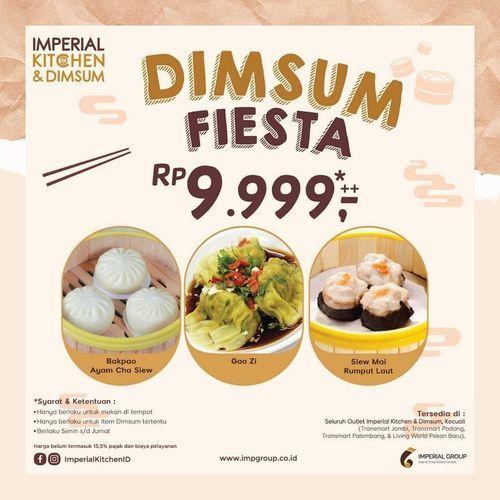 Promo Dimsum Fiesta Rp. 9.999++ hadir lagi dengan pilihan menu berbeda! (29643641) di Kota Jakarta Selatan