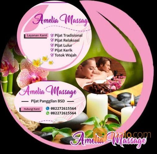 Pijat Panggilan Bsd Amelia (29654897) di Kota Tangerang Selatan