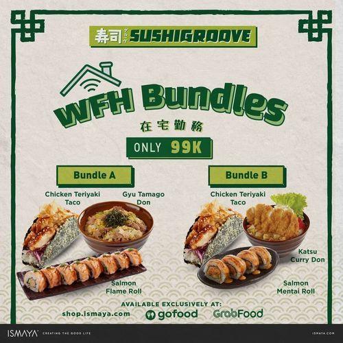 SUSHIGROOVE WFH Bundles Only 99K (29658383) di Kota Jakarta Selatan
