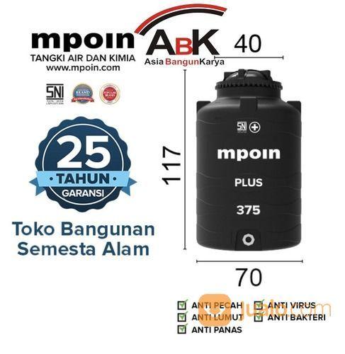 TANDON AIR / KIMIA MPOIN PLUS 375L (29659467) di Kab. Tanjung Jabung Barat