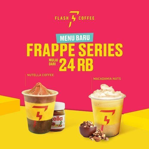 Flash Coffee Menu Baru FRAPPE SERIES Mulai Dari 24RB !! (29672953) di Kota Jakarta Selatan