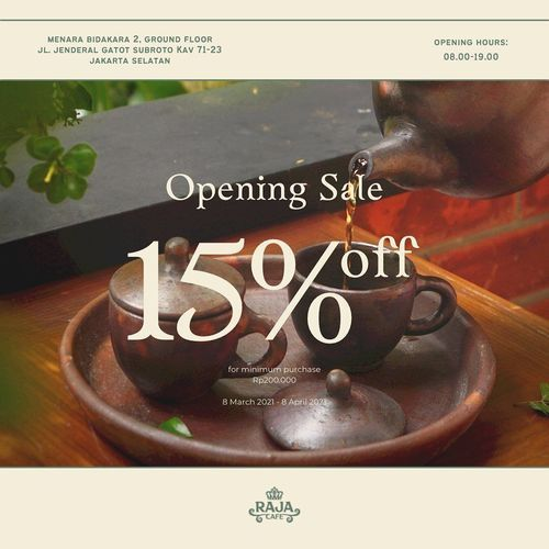 Raja Cafe Bidakara Opening Sale 15% Off !! (29689237) di Kota Jakarta Selatan