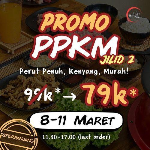 Sakabe Buffet PROMO PPKM BALIK LAGI! (29697066) di Kota Jakarta Selatan