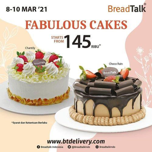 BreadTalk Fabulous Cake mulai dr 145rb!* (29697085) di Kota Jakarta Selatan