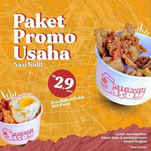 Nasi Kulit Asoy Paket Promo Usaha Nasi Kulit Rp. 2,9 Juta Free Bahan Baku 100 Porsi !! (29697116) di Kota Jakarta Selatan