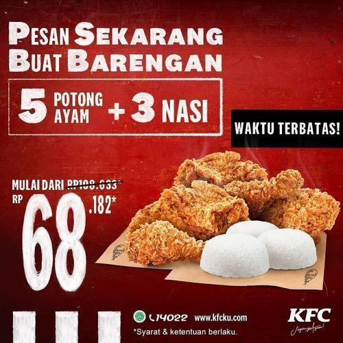 KFC ROXY JEMBER PESAN KFC SEKARANG BUAT BARENGAN! Mulai dari Rp 68.182 !! (29697246) di Kab. Jember