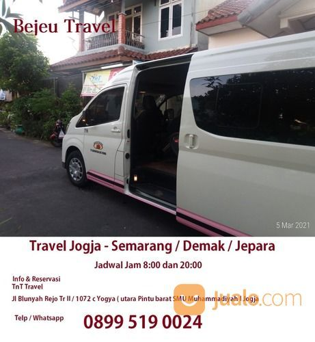Bejeu Travel Jogja Demak PP (29703940) di Kota Yogyakarta