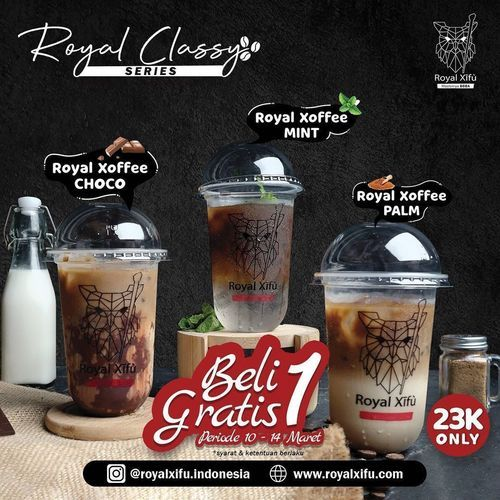 Royal Xifu Royal Classy Series BELI 1 GRATIS 1 (29706910) di Kota Jakarta Selatan