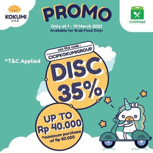 KOKUMI Promo Diskon 35% (29707516) di Kota Jakarta Selatan
