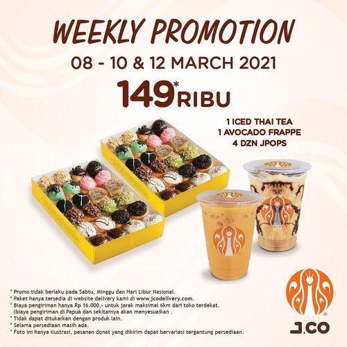 JCO Weekly Promotion Rp. 149 Ribu (29707573) di Kota Jakarta Selatan
