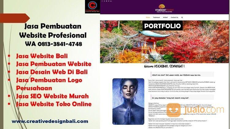 PELAYANAN TERBAIK, 0813-3841-4748, Jasa Website Dan Desain Online (29719489) di Kab. Badung