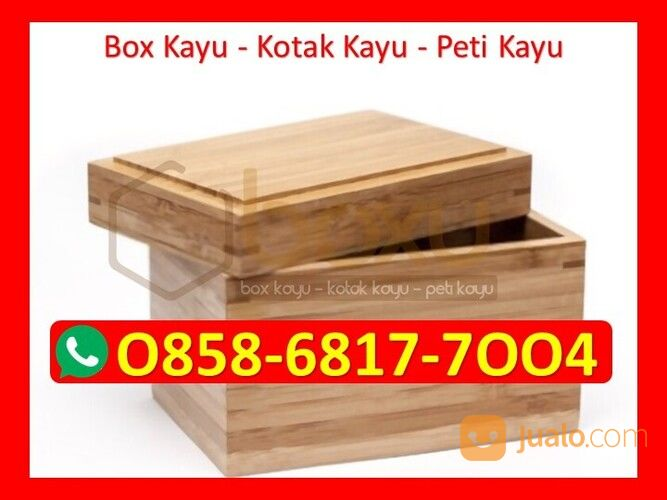 O858 68I7 7OO4 Kotak Kayu Hampers Jakarta (29721346) di Kota Magelang