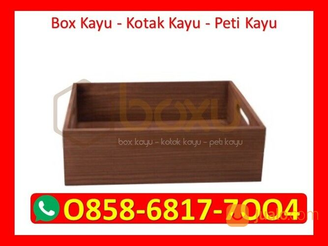 O858 68I7 7OO4 Pengrajin Box Kotak Kayu Jakarta (29721358) di Kota Magelang