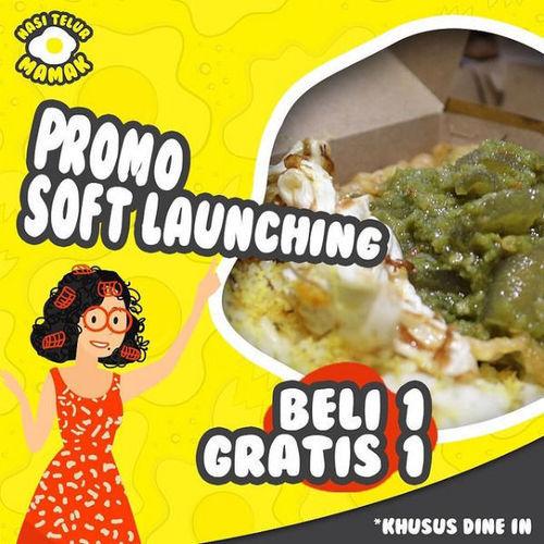 Promo Soft Launching Nasi Telur Mamak (29746727) di Kota Jakarta Selatan